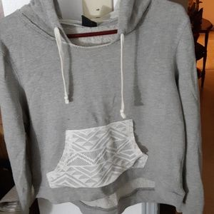 Hard candy Cropped hoodie with lace💎